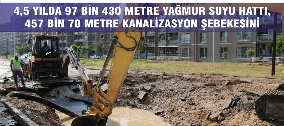 Adana'nın altyapı çilesi tarihe karıştı