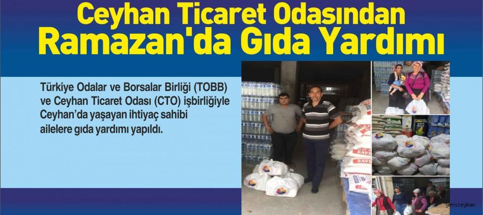 CTO Ramazanda Gıda Yardımı Yaptı