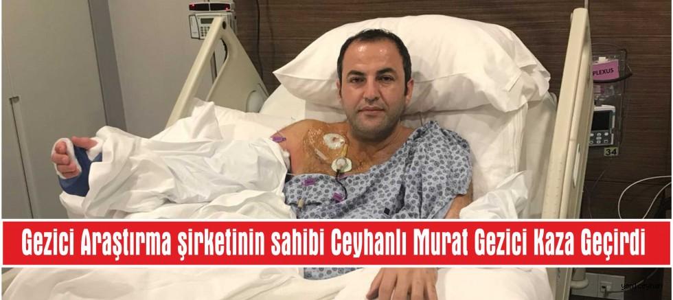 Murat Gezici Kaza Geçirdi